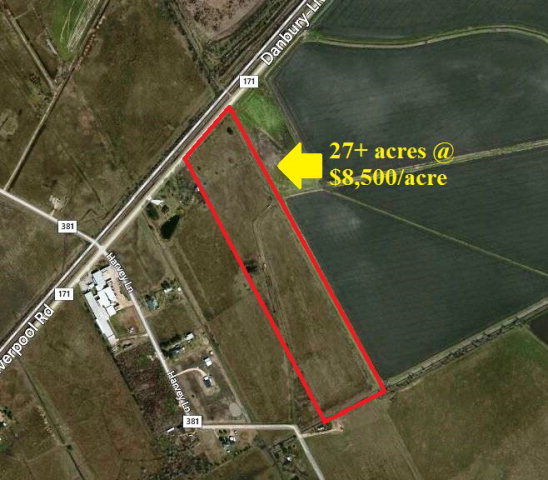 0 COUNTY ROAD 171(27+/- ACRES) DANBURY, TX 77534
