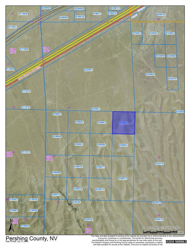 40 acres above Imlay w/minerals Imlay, NV 89419